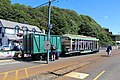 Manx Electric Railway tram number 16 and wagon (geograph 5052137).jpg