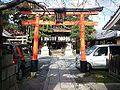 Manzoku-Inari-jinja Shintô Shrine - Vermilion torii.jpg