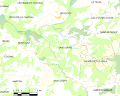 Map commune FR insee code 12228.png