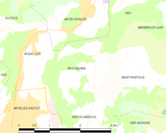 Map commune FR insee code 65098.png