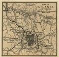 Map of Atlanta and vicinity. (July 1864). LOC 99447304.tif