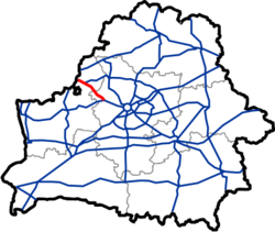 Map of Automobile Roads in Belarus M7.png