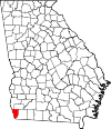 Map of Georgia highlighting Seminole County.svg