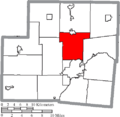 Map of Shelby County Ohio Highlighting Franklin Township.png