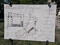 Map of Tihany Abbey. - I. András Square, Tihany.JPG