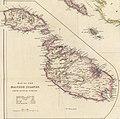 Map of the Maltese Islands from actual survey, John Arrowsmith, 1844.jpg