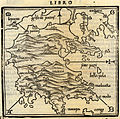 Map of the Peloponnese - Bordone Benedetto - 1547.jpg