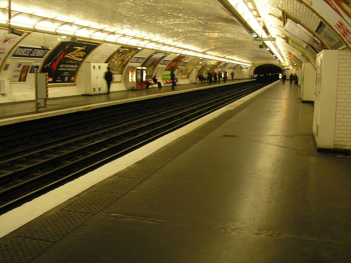 Marcel sembat metropolitana di parigi wikipedia - Metro marcel sembat boulogne ...