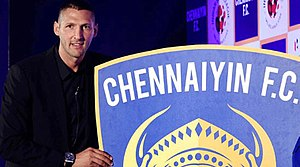 Chennaiyin FC - Marco Materazzi was the head coach of Chennaiyin FC from 2014 to 2016