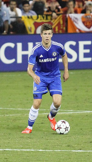 Marco van Ginkel - Van Ginkel playing for Chelsea in 2013