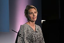 Maria Eitel, President & CEO, Nike Foundation, speaking at the Girl Summit 2014 (14724578432).jpg
