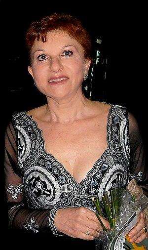 English: Mariella Devia. Italian opera singer....