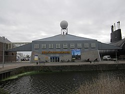 Marinemuseum entrance building October 2011.JPG