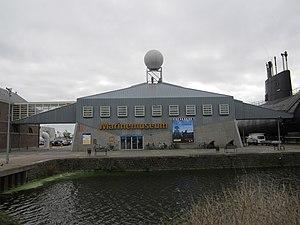 Dutch Navy Museum - The museum entrance