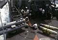 Mark 32 torpedo tubes with torpedoes aboard USS Lyman K. Swenson (DD-729), circa in 1969.jpg