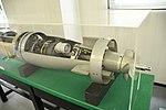 Mark 44 torpedo aft body section & propeller let rear view in JMSDF 1st Service School May 6, 2019.jpg