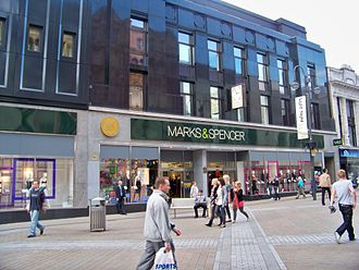 Marks & Spencer - Marks and Spencer on Briggate not far from their original branch in Leeds.