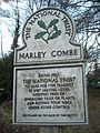 Marley Combe National Trust sign, Camelsdale.JPG