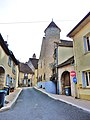 Marnay. Rue Gambetta, vue du bas.jpg