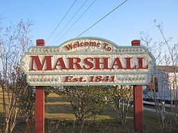 Marshall welcoming sign IMG 2329.JPG