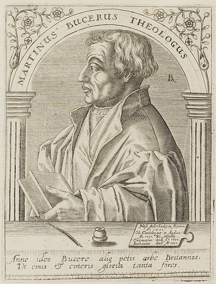 Martin Bucer who had corresponded with Cranmer for many years was forced to take refuge in England. Martin-Bucer 1.jpg
