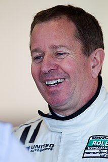 Martin Brundle British racing driver