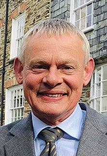 Martin Clunes English actor