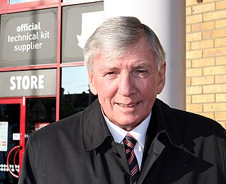 Martin Peters - Martin Peters at the Boleyn Ground, Upton Park on 16 May 2015