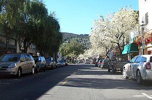 Martinez, California - Main Street in Martinez