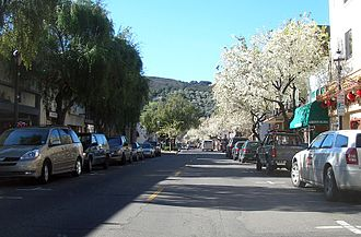 Martinez, California - Main Street in Martinez