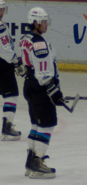 """Asia League Ice Hockey - Masahito Nishiwaki was awarded """"Young Guy of the Year"""" in 2006. In 2009 he helped lead his team to a championship with 12 goals in the playoffs."""