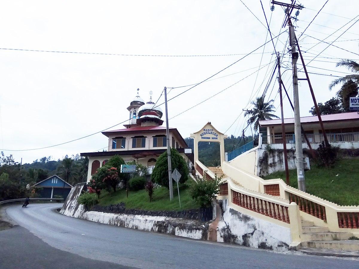 Pembantaian Di Selandia Baru Wikipedia: Nurul Huda Mosque