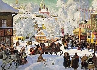 Maslenitsa Slavic folk Christianity