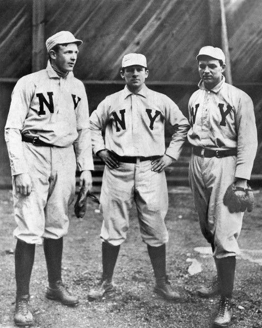 Mathewson, McGraw, and McGinnity