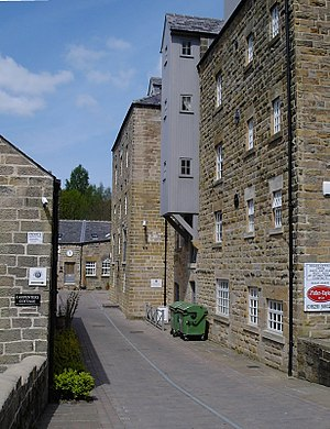 Matlock, Derbyshire - Baileys (corn) Mill on Bentley Brook
