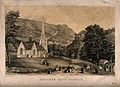 Matlock Bath Church, Derbyshire. Tinted lithograph by S. Ray Wellcome V0013945.jpg