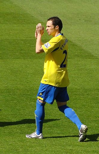 Stoke City F.C. Player of the Year - Winger Matthew Etherington won the award in 2010.