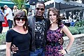Matthew G. Brown, Amber Goldfarb at the CFC Annual BBQ 2012.jpg