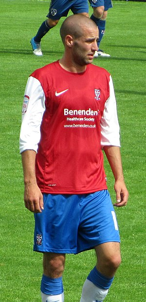 Matty Blair - Blair playing for York City in 2012