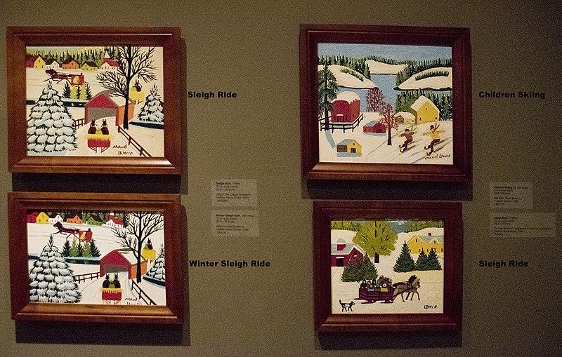 File:Maud Lewis paintings.jpg
