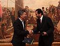 Mauricio Macri firmó un acuerdo con el gobernador de Brasilia DF, Agnelo Queiroz (9573578348).jpg