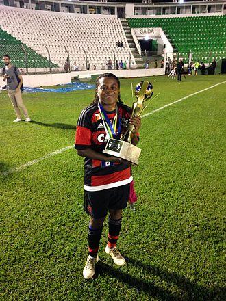 Maycon - Image: Maycon campeã brasileira