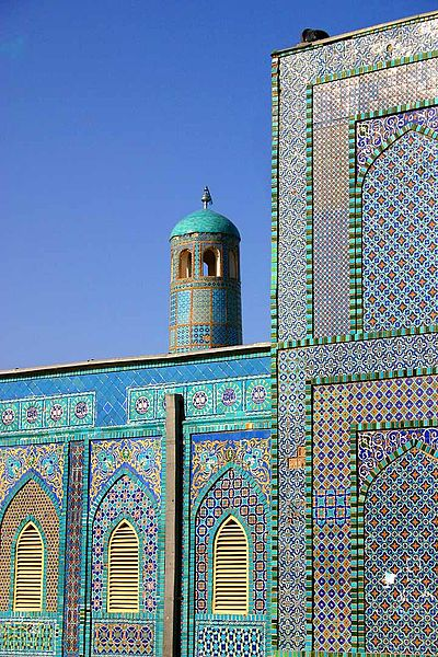 File:Mazar-e Sharif - Mosque.jpg