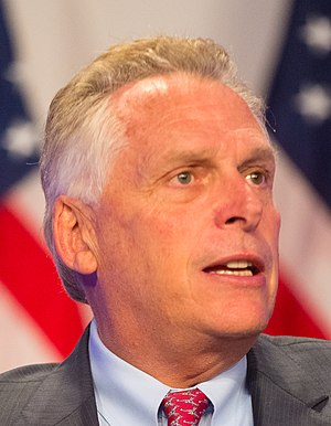 Governor of Virginia - Image: Mc Auliffe crop