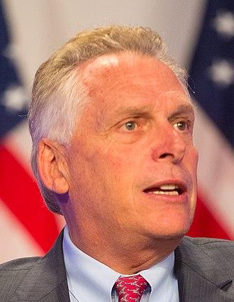 Governor of Virginia - Image: Mc Auliffe crop