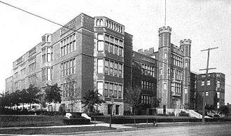 McKinley Classical Leadership Academy - McKinley High School in 1910