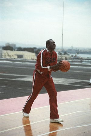 Williston School - Image: Meadowlark Lemon shooting
