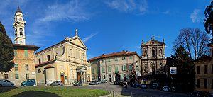 Meda, Lombardy - Image: Meda panorama