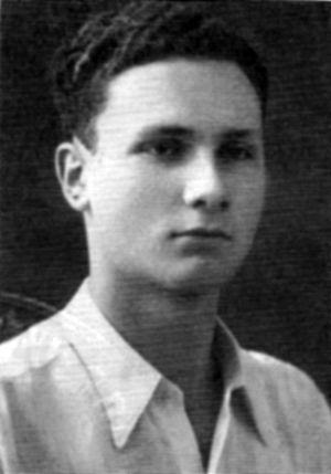 Meir Shamgar - Shamgar at the age of 18