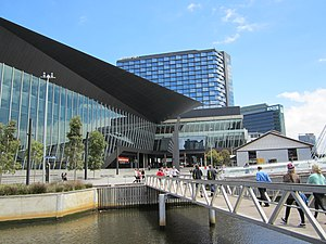 Melbourne Convention and Exhibition Centre - The convention centre in 2012